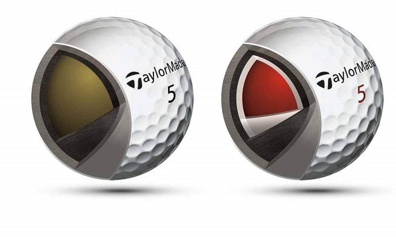 Bóng của hãng TaylorMade có khả năng chống lại biến dạng của động lực