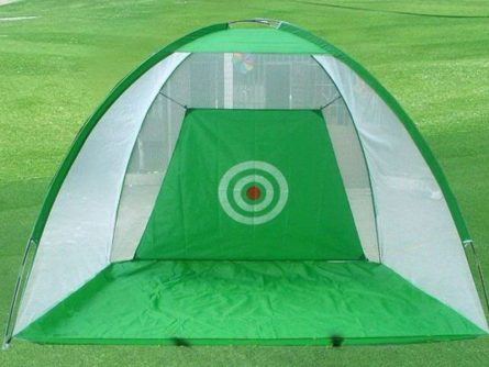 Lều tập golf hình chóp với thiết kế đơn giản gàng mang đến sự tiện lợi