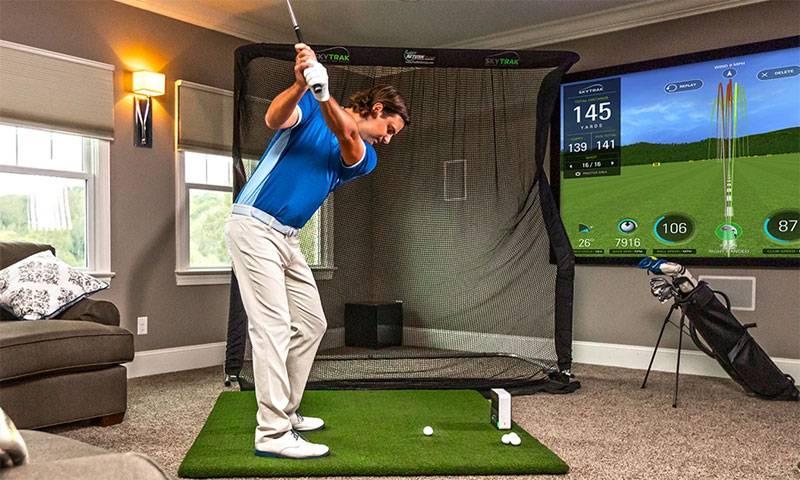 Chơi và tập luyện golf ngay tại nhà với nhiều trải nghiệm hấp dẫn
