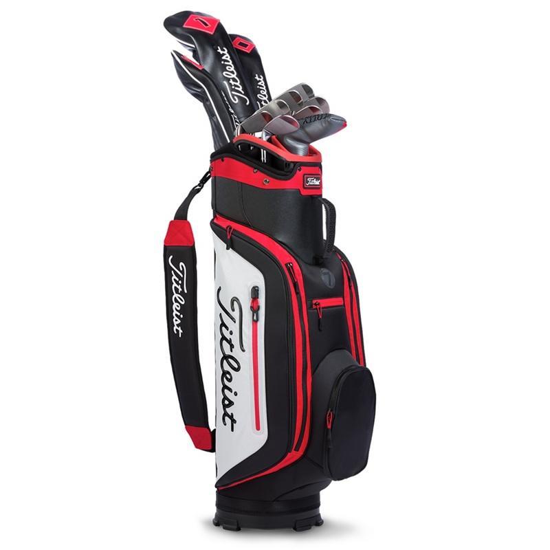 Túi đựng gậy đánh golf Titleist Club 7 đẹp đến từng chi tiết