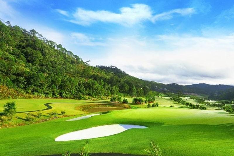 Phối cảnh tổng thể sân golf Thủ Đức