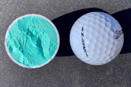 Cấu tạo bóng golf 2 lớp