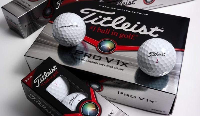 Bóng đánh golf Titleist V1