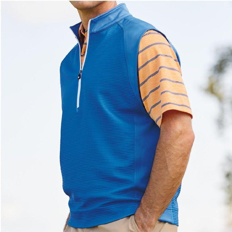 Khi chọn mua áo gile, bạn nên chú ý đến chiều dài, chất liệu