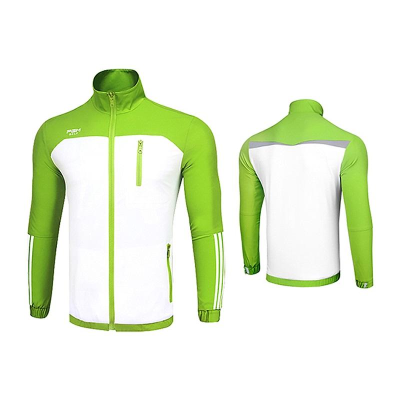 Áo có chất liệu chính là nylon, thấm mồ hôi đồng thời còn có khả năng giữ ấm