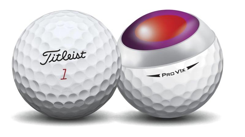 Bóng Titleist pro V1X sở hữu thiết kế hình cầu tứ diện hiện đại