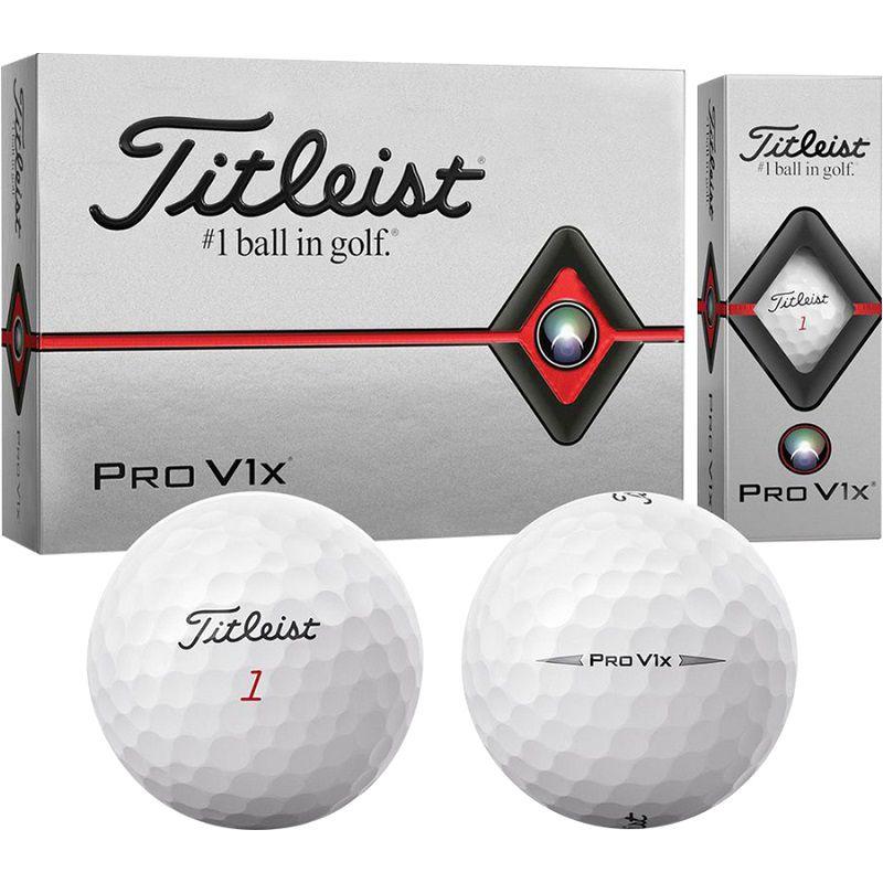 Titleist Pro V1X là mẫu bóng được rất nhiều golfer sử dụng