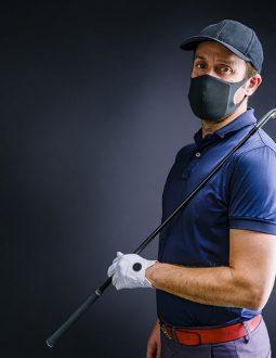 Khẩu trang golf được thiết kế với rất nhiều mẫu mã, chủng loại đa dạng khác nhau