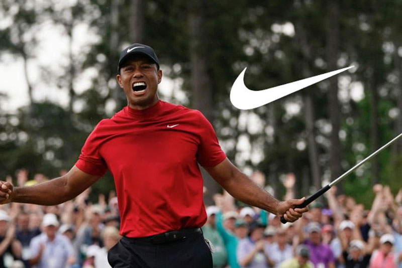 Tiger Woods là hình ảnh đại diện cho Nike Golf