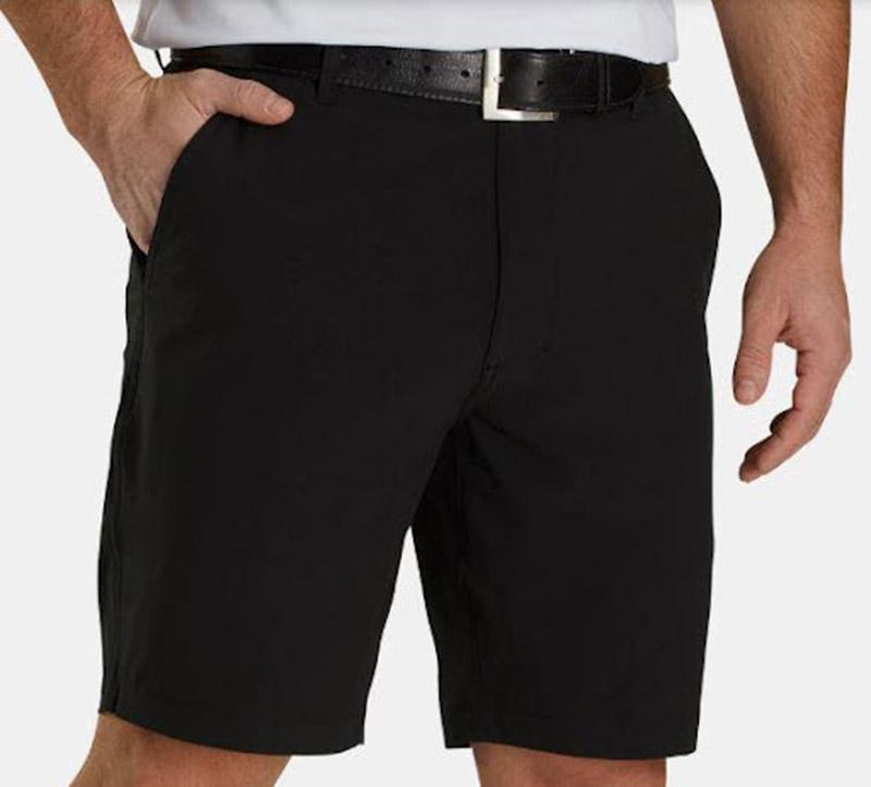 Set quần short áo thun kết hợp với thắt lưng golf FootJoy