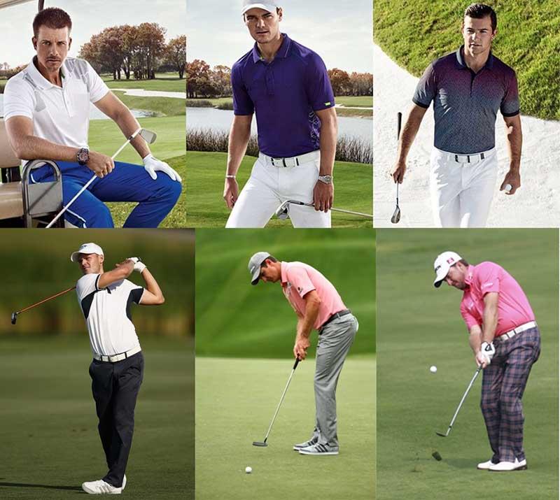 Thắt lưng golf Footjoy tạo điểm nhấn trong cách phối đồ