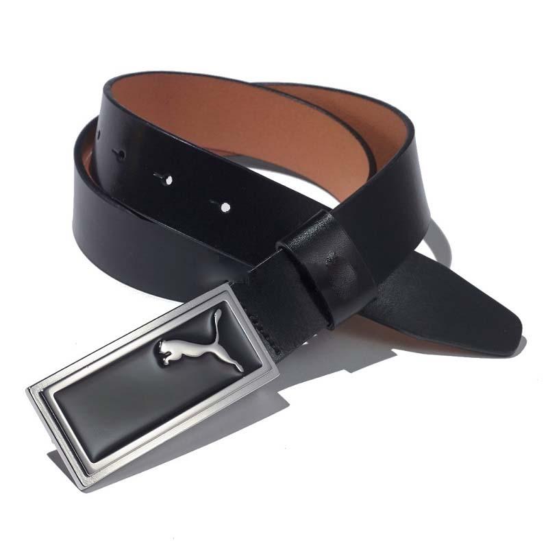 Thắt lưng golf Puma Enamel Skinny bằng chất liệu da màu đen là một trong những mẫu sản phẩm rất được ưa chuộng