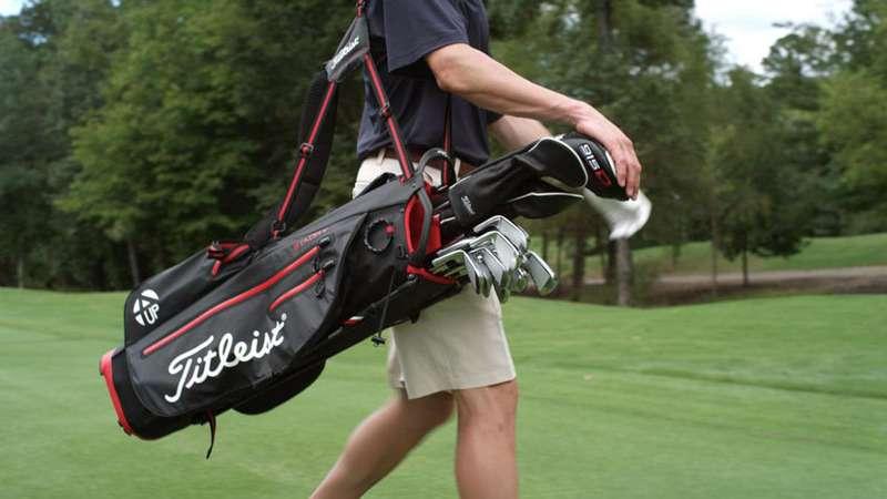 Túi gậy golf vải dù được golfer ưu tiên lựa chọn
