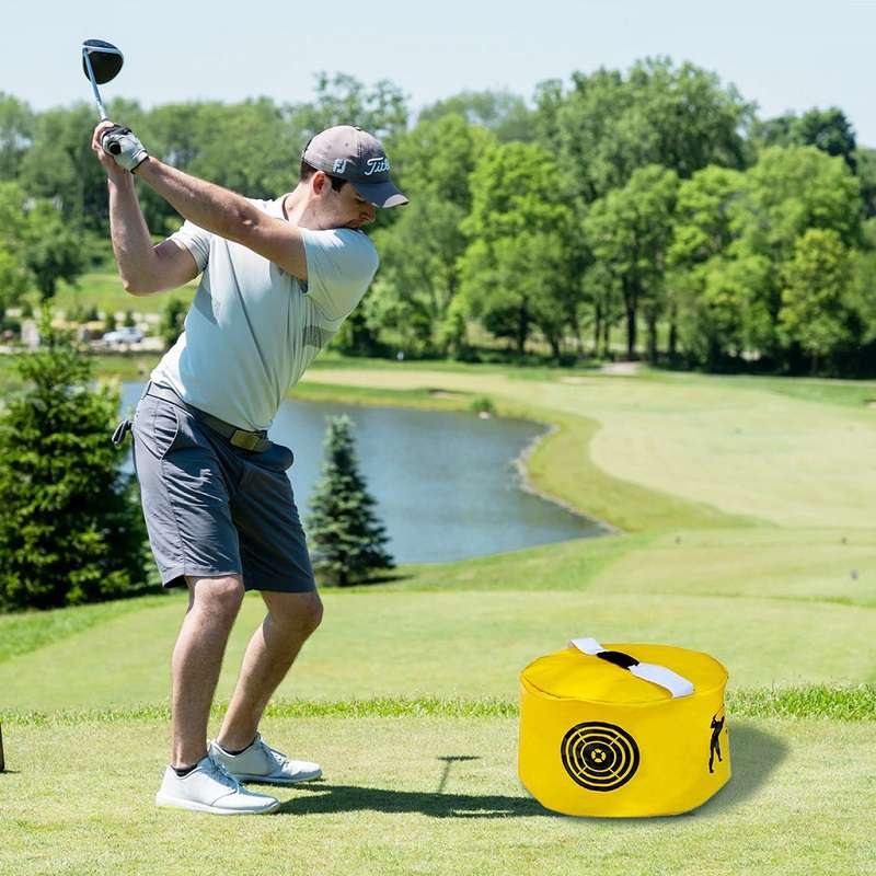 Túi tập swing golf là một thiết bị tập luyện đơn giản và có kích thước nhỏ gọn