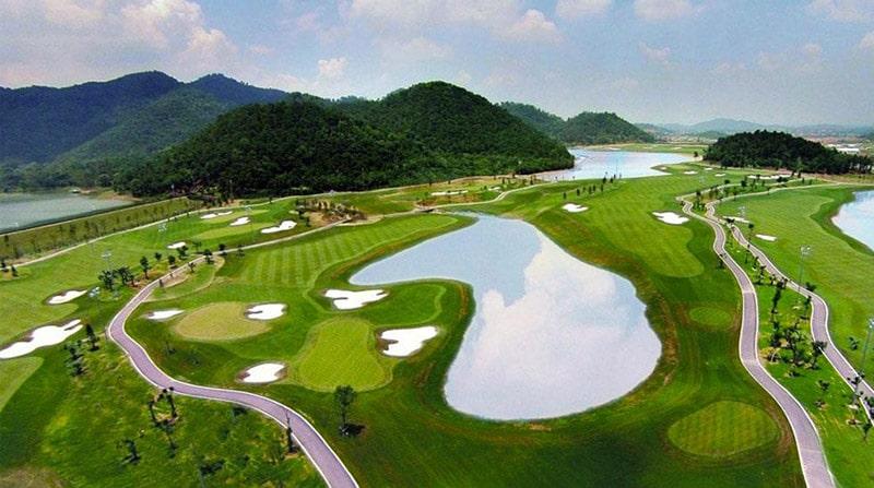 Khung cảnh sân golf BRG Đà Nẵng