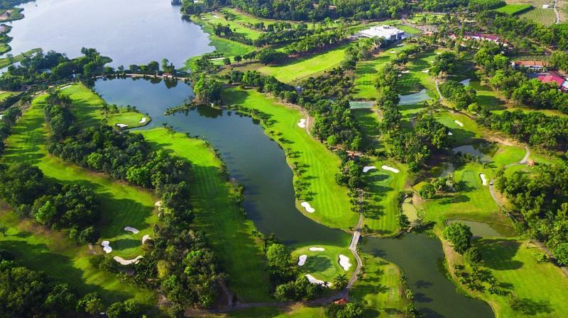 Sân golf Đồng Nai có phối cảnh tổng thể rất đẹp