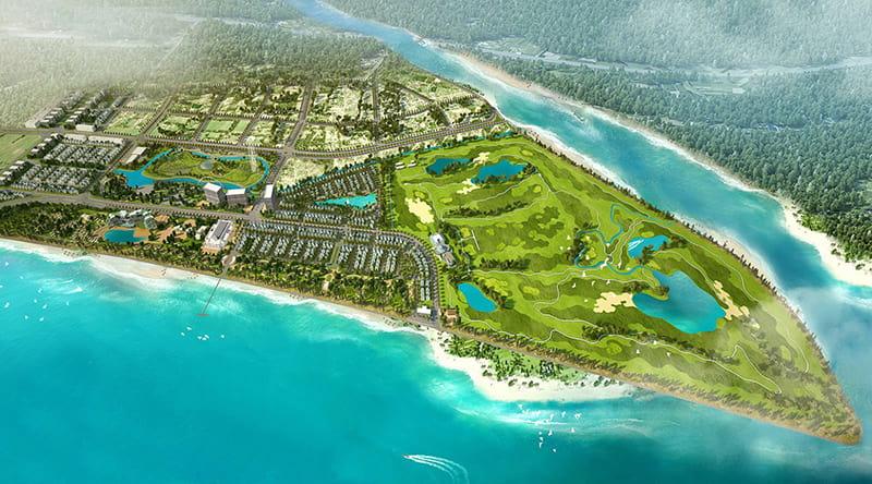 Thiết kế của sân golf FLC Sầm Sơn Thanh Hóa
