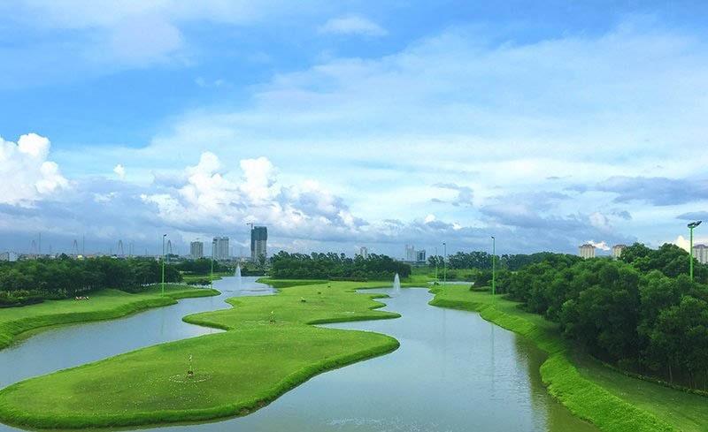 Sân tập Golf Hà Nội Ciputra