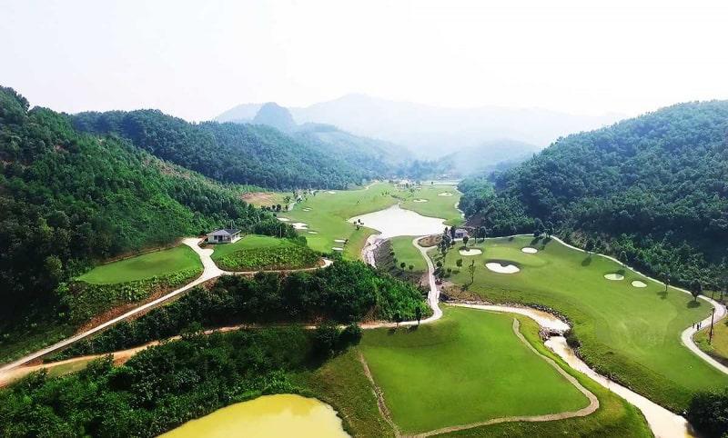 Sân golf Hòa Bình Hilltop Valley Golf Club