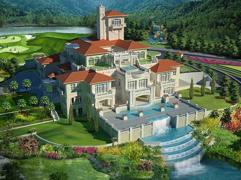 Nhà câu lạc bộ sân golf Legend Hill