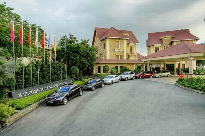 Khu tiện ích của sân golf Long Thành