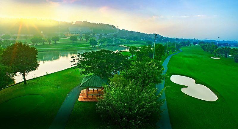 Sân golf Long Thành có địa thế thiên nhiên tuyệt đẹp