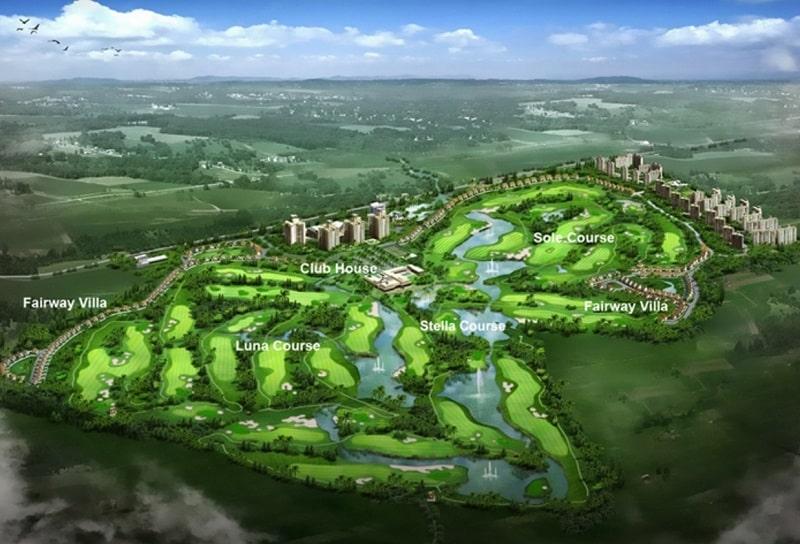 Thiết kế của sân gôn Phú Mỹ