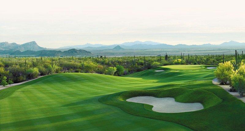 Sân tập golf sẽ có diện tích rộng để các golfer thỏa sức tập luyện
