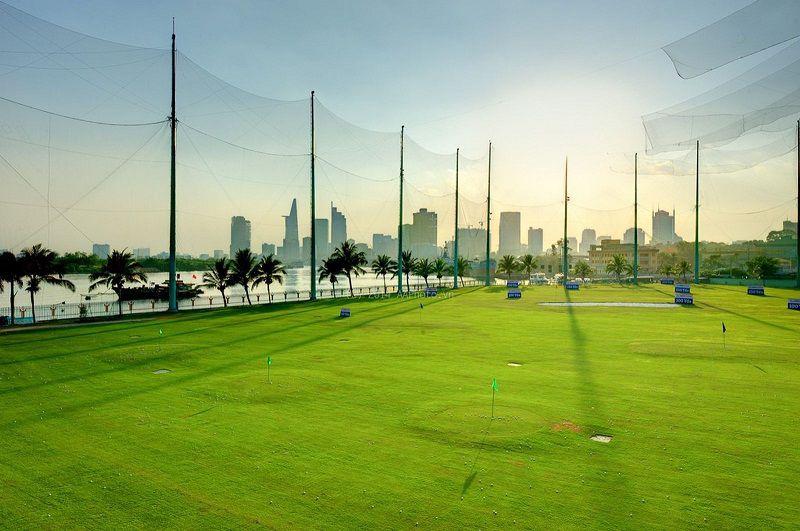 Sân tập golf Him Lam Driving Range Ba Son
