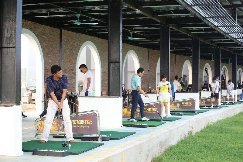 Sân tập golf Hà Đông là điểm đến lý tưởng cho nhiều golfer