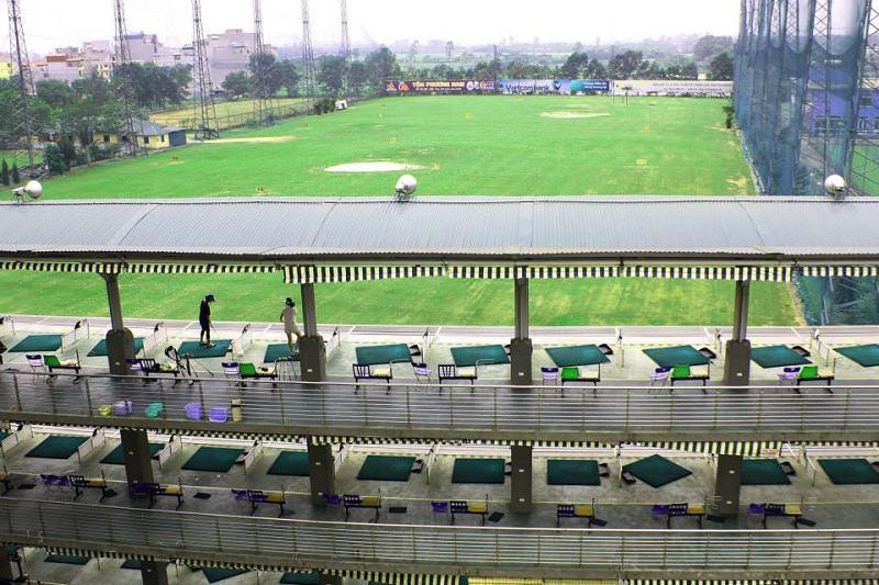 Sân tập golf Phương Đông là điểm đến được nhiều người yêu thích