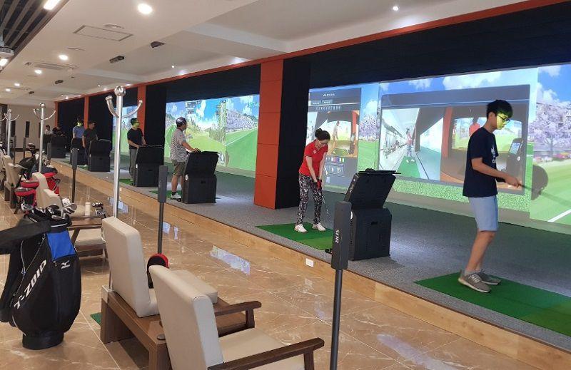 Khu chơi golf 3D trong nhà
