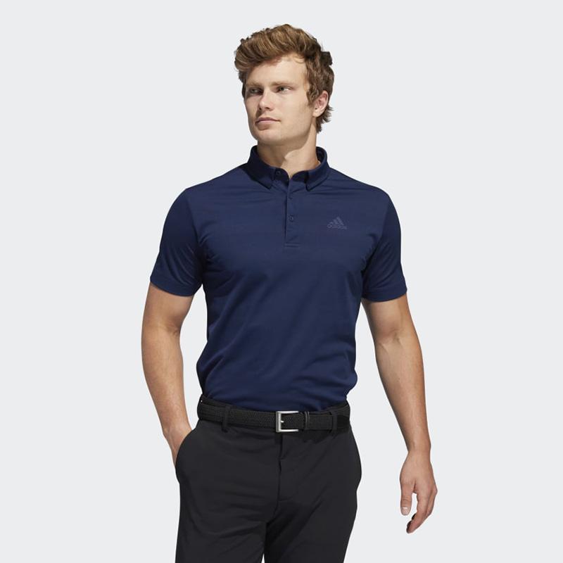 Áo thun đánh golf xanh navy Adidas FS6883 với khả năng thấm hút mồ hôi tuyệt vời