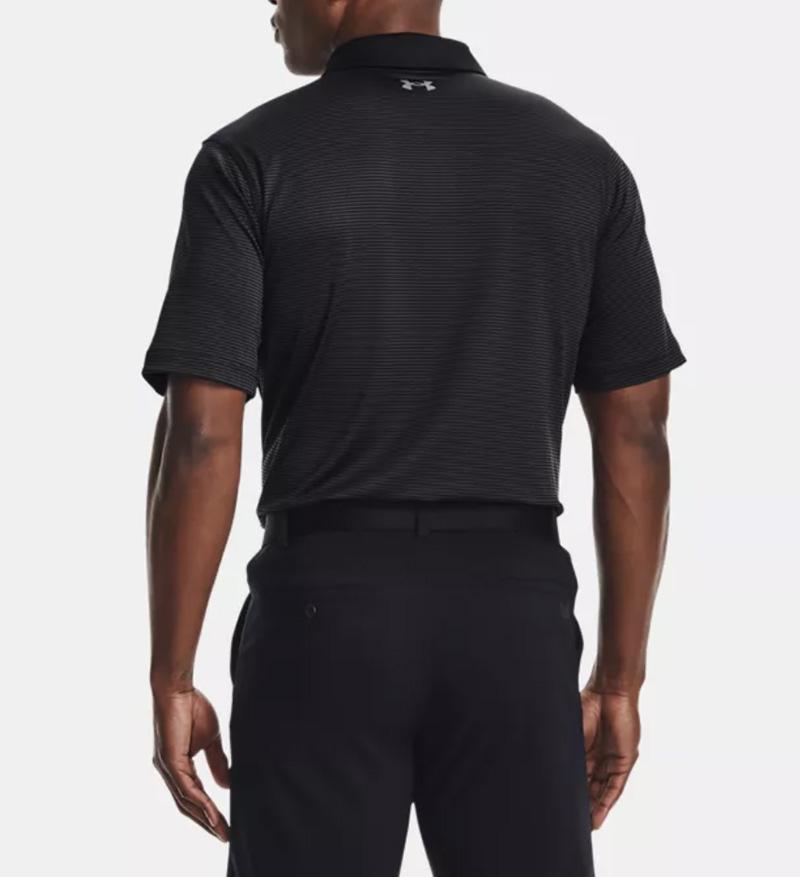 Áo thun golf Under Armour Performance màu đen ấn tượng, tinh tế