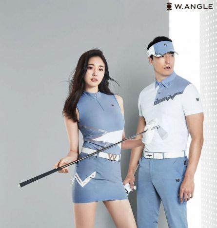 Nhờ thiết kế đẹp nên các mẫu quần áo golf của W. Angle còn có thể mặc như quần áo thời trang hàng ngày