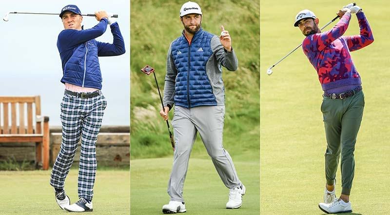 Quần áo golf mùa đông tạo phong cách riêng cho mỗi golfer