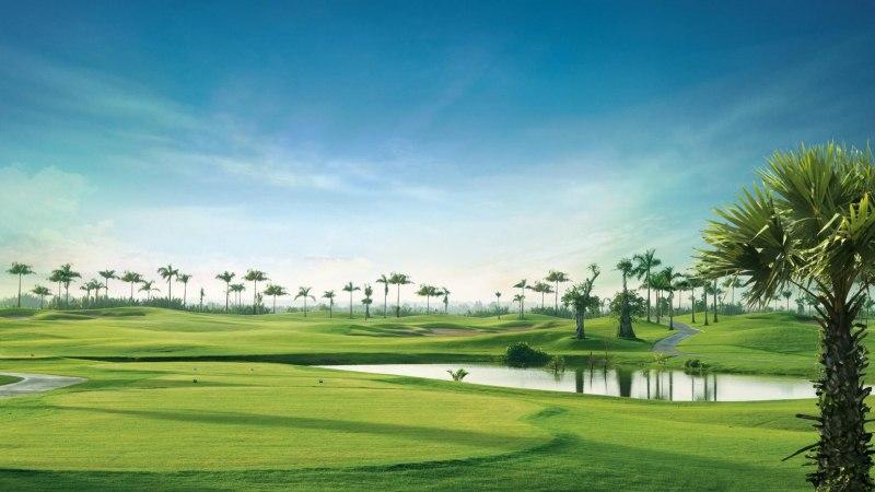Vẻ đẹp thơ mộng của sân golf Nhơn Trạch