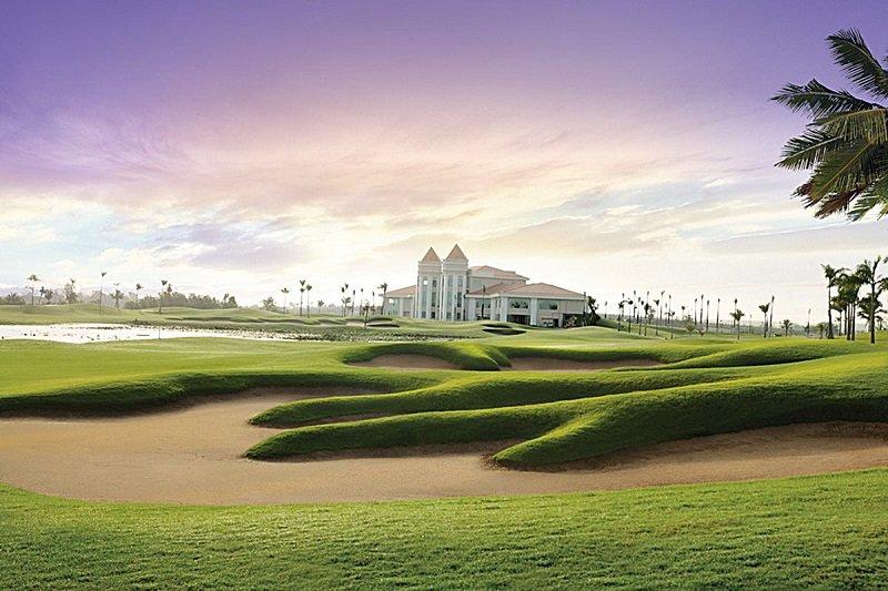 Sân golf được đánh giá là có thiết kế đẹp mắt